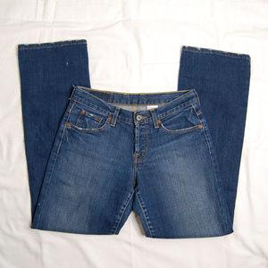{Lucky Brand} Billie Easy Rider Straight Leg Jeans